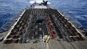 البنتاغون: الأسلحة المضبوطة في بحر العرب مصدرها إيران وكانت في طريقها للحوثيين