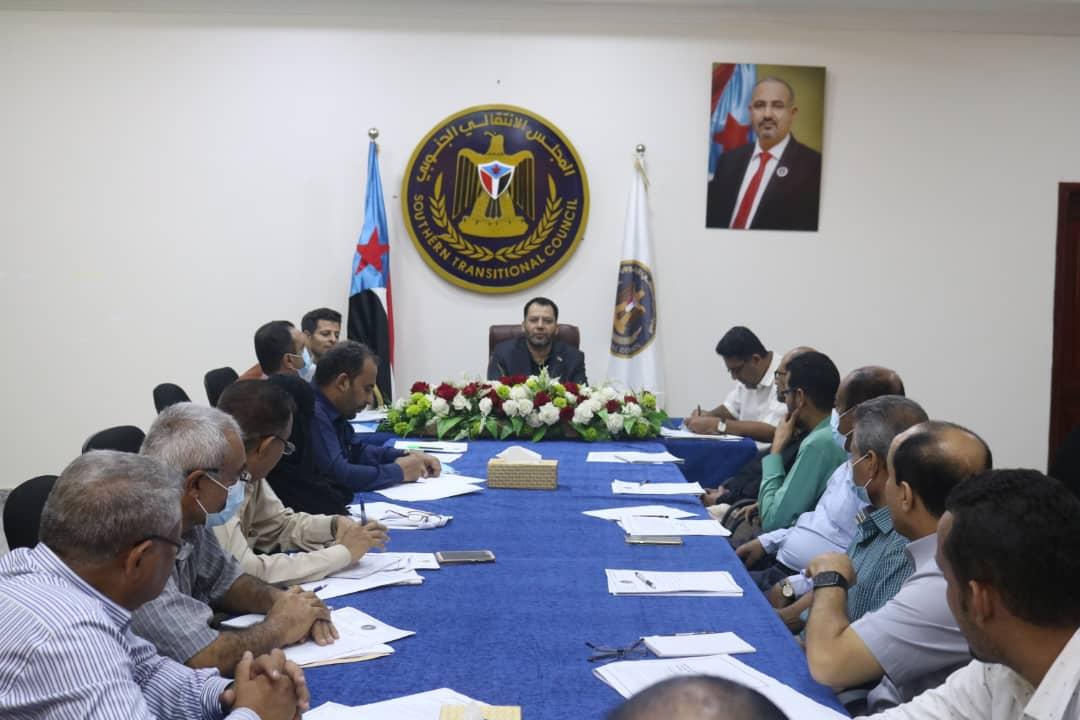 الأمانة العامة تقف على مشكلة النزوح المستمر إلى العاصمة عدن وباقي محافظات الجنوب