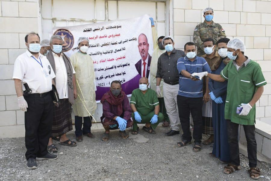 """بتوجيهات من الرئيس الزُبيدي.. الشعيبي والحكم يدشنان حملة """"إنقاذ ردفان"""""""