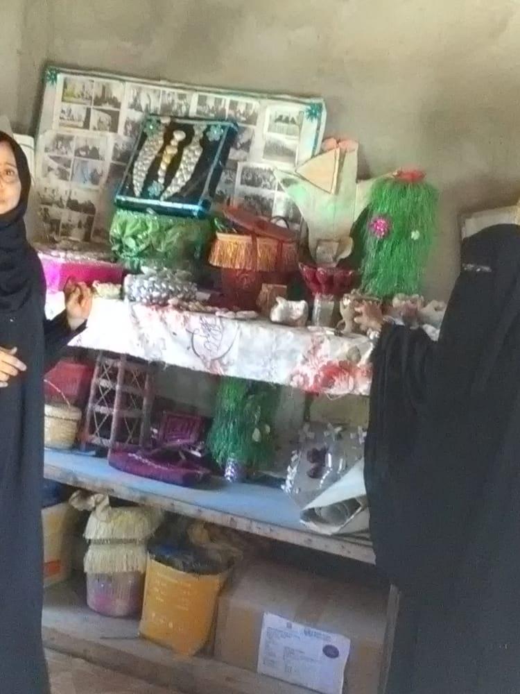 بدعم من المجلس التنسيقي الاعلى جمعية البناء تدشن دورات الاشغال اليدوية