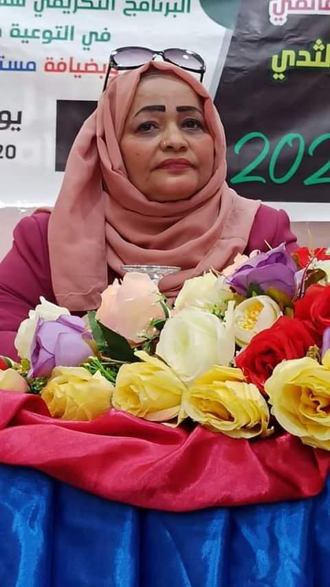 الدكتورة حميدة زيد مدير عام الصحة الإنجايية بوزارة الصحة تنفذ عددا من الأنشطة التوعوية ضد سرطان الثدي