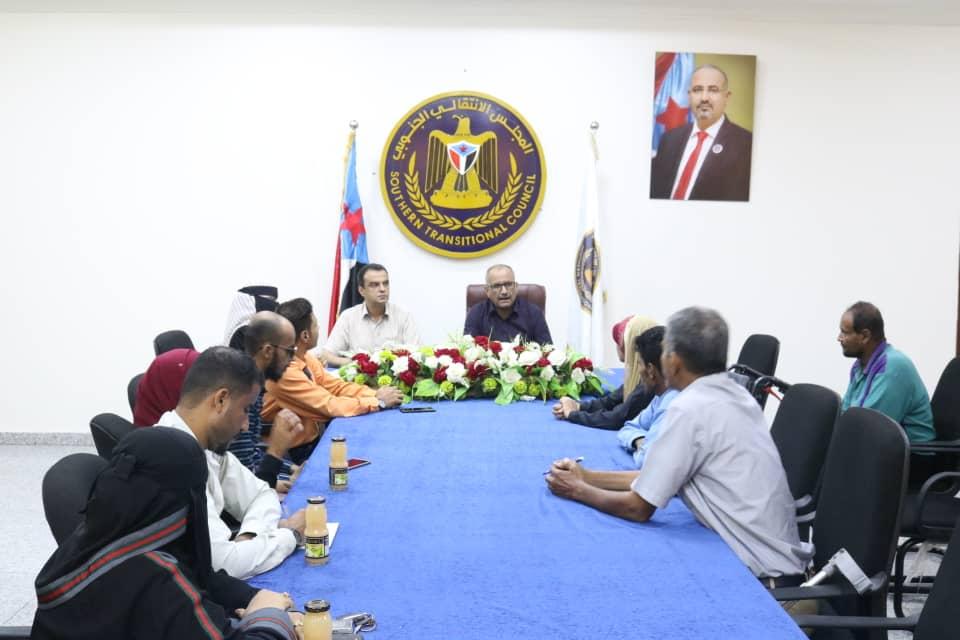 نائب الأمين العام يلتقي أعضاء الشبكة الوطنية لمناصرة حقوق ذوي الهِمم