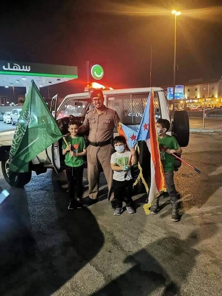 الصورة التي تسببت بصدمة كبيرة لدى قيادات الشرعية في الرياض